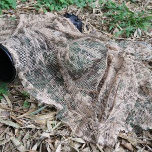 Tragopan camouflage scarf Beige 2Q2A7485BD