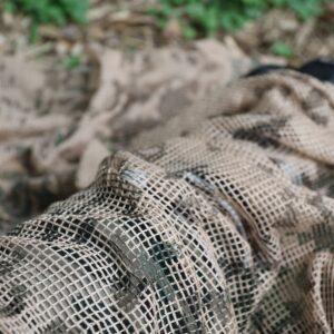 Tragopan camouflage scarf Beige 2Q2A7487BD