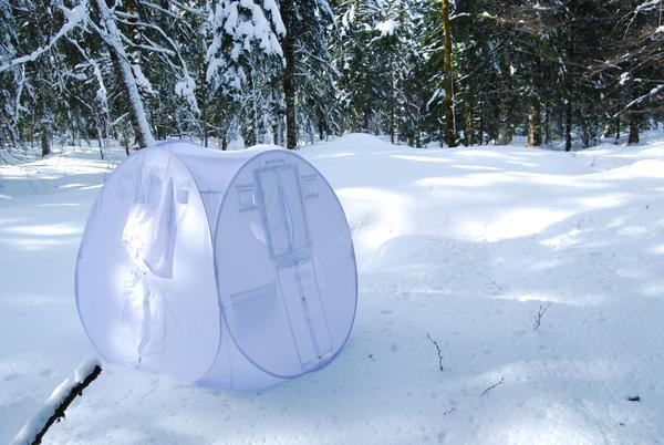 Tragopan sneeuw schuilhut V4