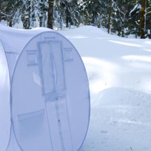 sneeuw schuilhut V4 staand